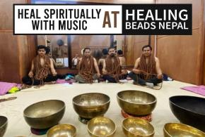 Heal yourself with music at Healing Beads Nepal