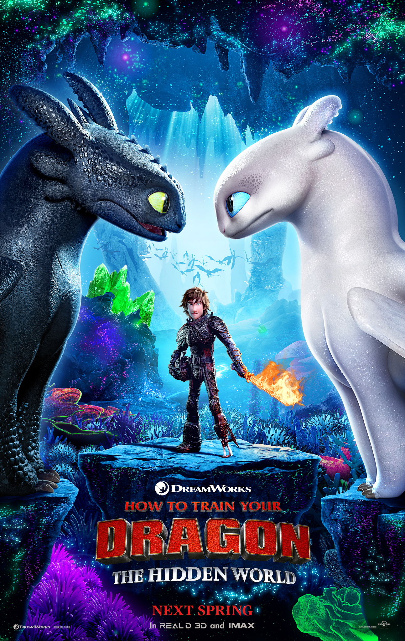 3D: How To Train The Dragon:The Hidden World PG